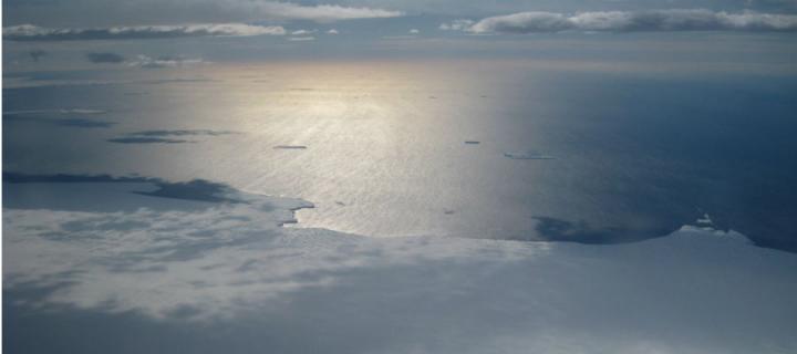 Antatctic coastline