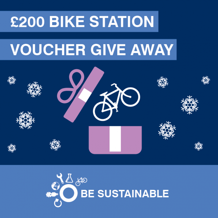 Be sustainable £200 bike give away