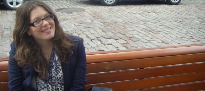 Katherine Bonnycastle, student blogger