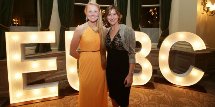 Katherine Grainger and Polly Swann at the Boat Club anniversary