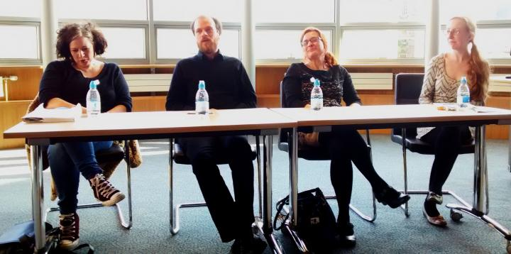 Roundtable discussion with Marie Moser, Derek Walker, Ann Landmann and Katherine Inglis