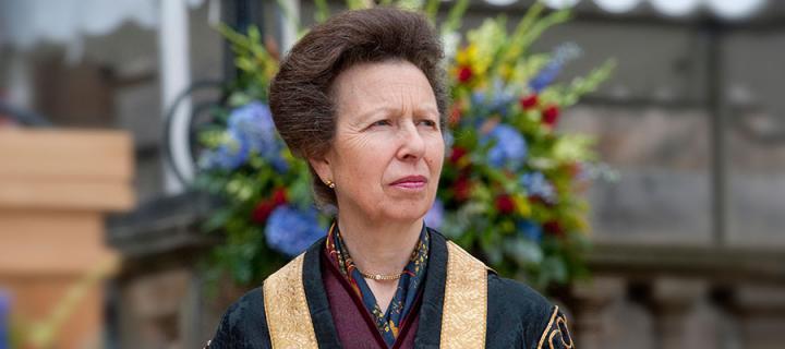 Photo of the University Chancellor, Her Royal Highness, The Princess Royal