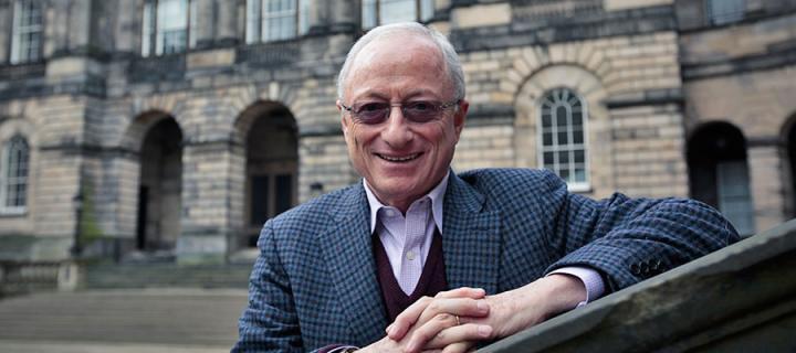Photo of the University Rector, Steve Morrison
