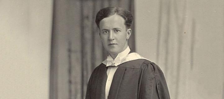 Sorley Maclean at his graduation in 1934 © The Maclean Family
