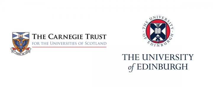 Carnegie Trust and the University of Edinburgh logos