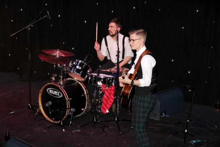 Local Ceilidh band Reel Joy