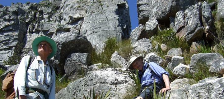 Dr Denis Rutovitz at Table Mountain in 2008