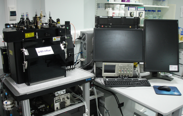 Image of a BD Influx cell sorter