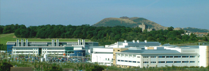 Image of the QMRI building