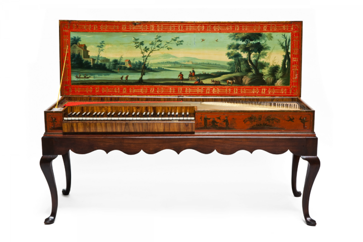 Clavichord made by Johann Hass