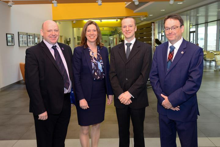 Head of School Professor David Argyle and Roslin scientist Dr Kenneth Baillie have welcomed Chief Medical Officer.