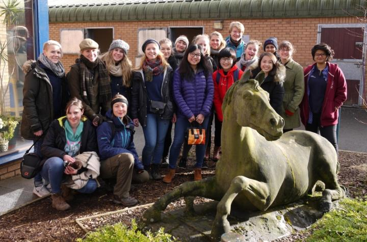 Dick Vet Students welcomed Danish students for a week-long visit as part of the IVSA initiative.