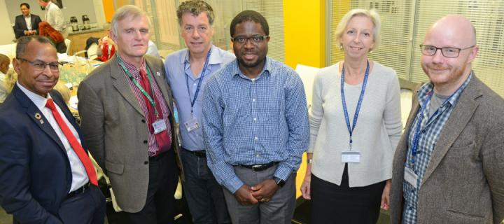 CTLGH members met at The Roslin Institute ahead of the meeting.