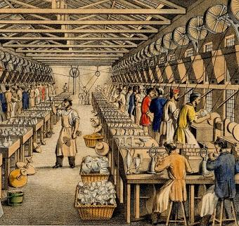 Cutting and Engraving shop c1860