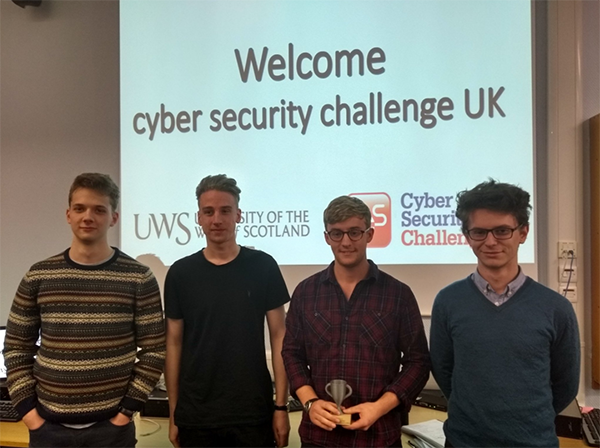 Winners of the Cyber Security Challenge