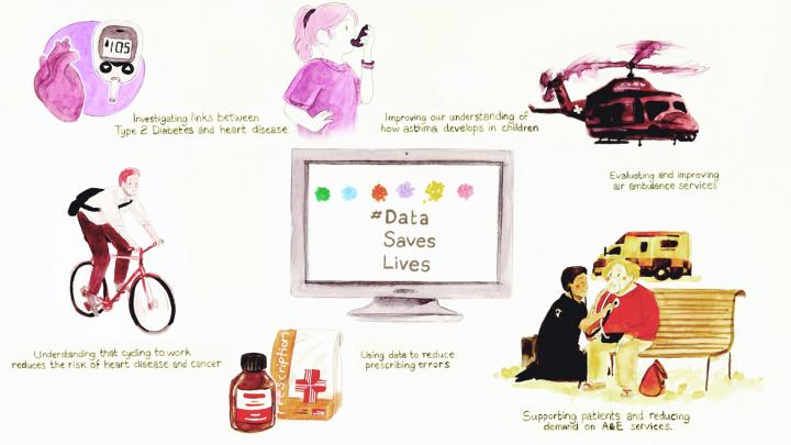 Data Saves Lives Animation Still
