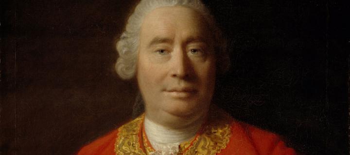 David Hume portrait by Allan Ramsay