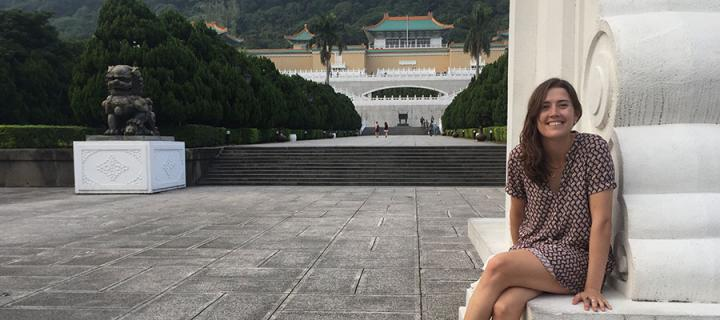 Photo of Davina Hill in China