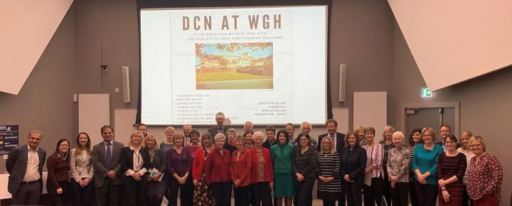 Attendees at the DCN at the WGH event