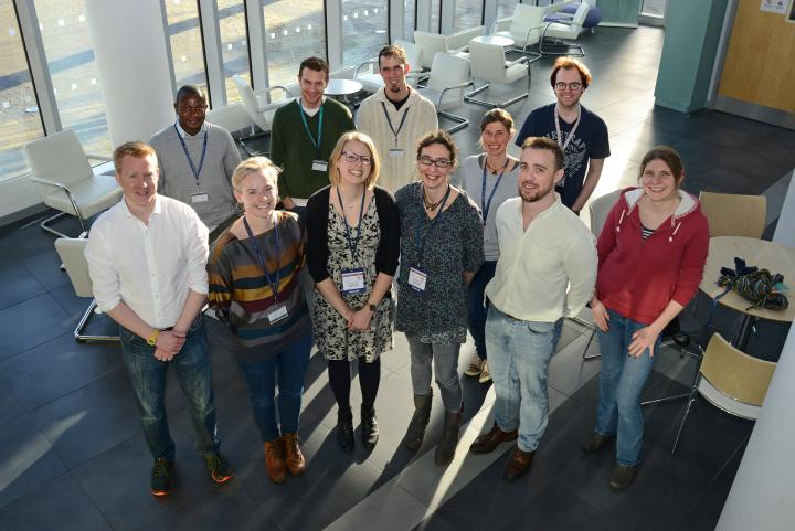Speakers and organisers of the mini-symposium.