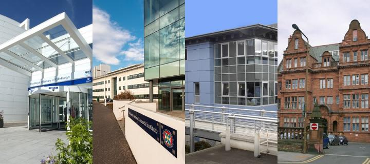 Edinburgh Clinical Research Facility buildings