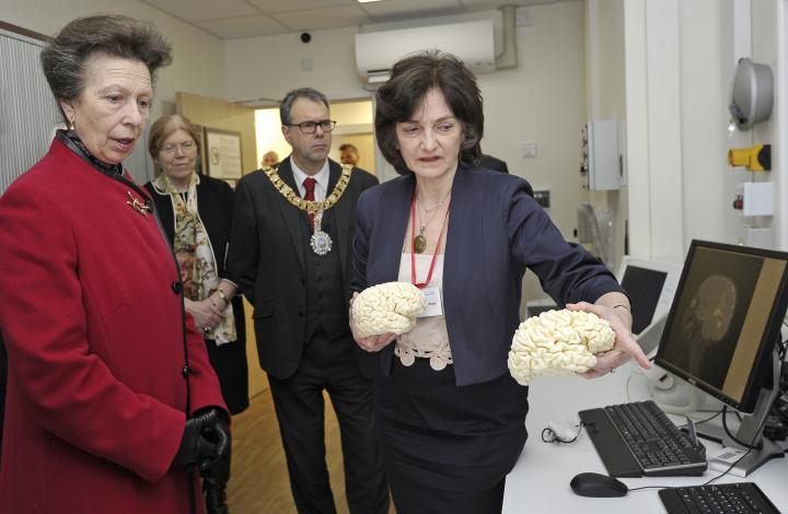 The Princess Royal visits Edinburgh Imaging