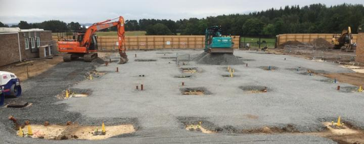 New Equine Hospital - Ground Works