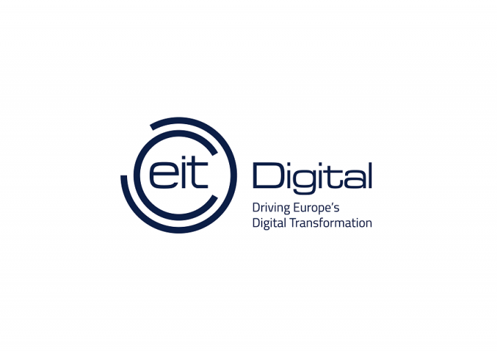 EIT Digital logo with strapline Driving Europe's Digital Transformation