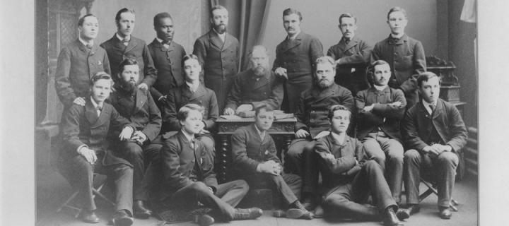 Members of Edinburgh Medical Missionary Society in 1884