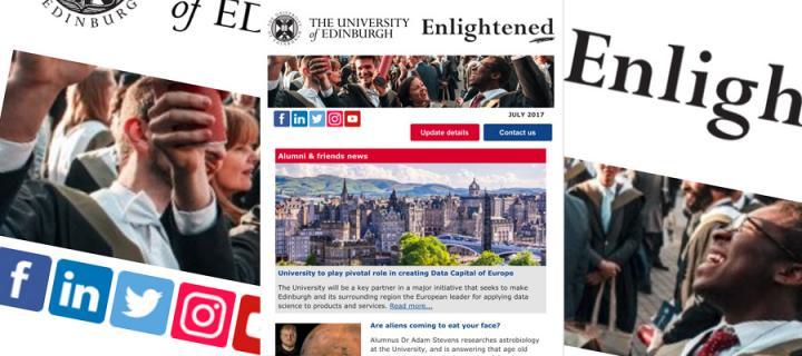 Enlightened alumni newsletter