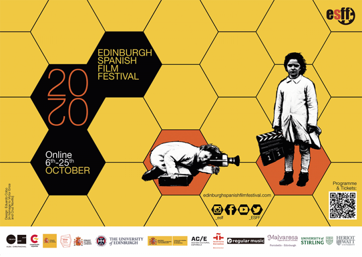Poster for Edinburgh Spanish Film Festival 2020