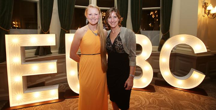 Polly Swann & Dame Katherine Grainger (credit: David Cheskin)