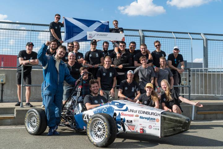 Edinburgh University Formula Student team