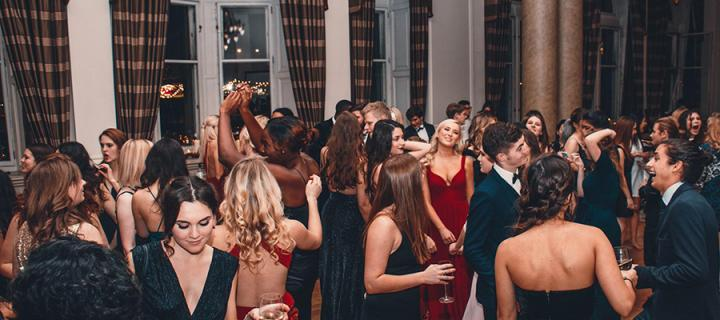 Edinburgh University North American Society Thanksgiving Charity Ball in 2016.