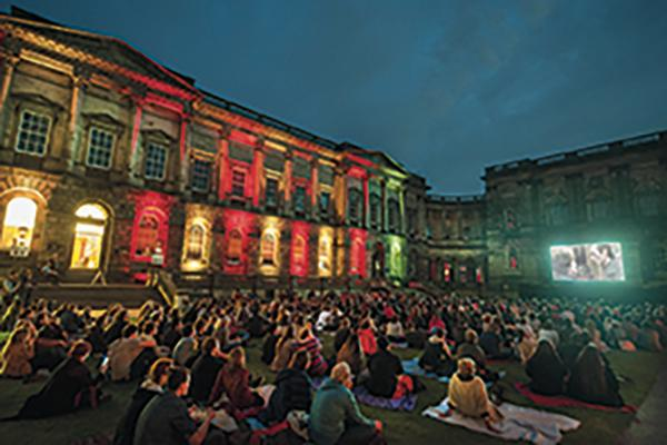 Usher Hall light projection