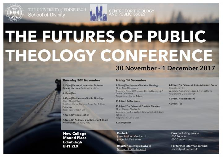 The Futures of Public Theology Conference