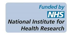 Funded by NIHR stamp