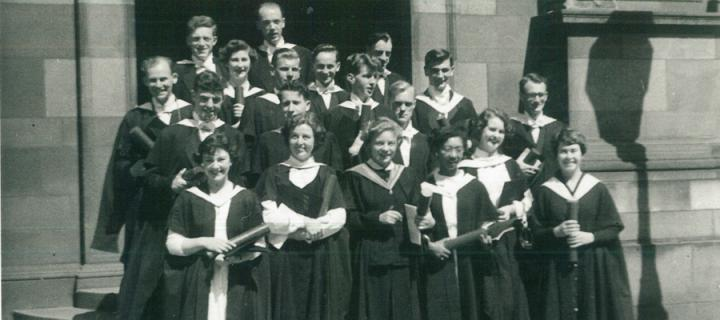 Class of 1955, geography (hons).
