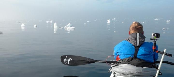 George Bullard kayak