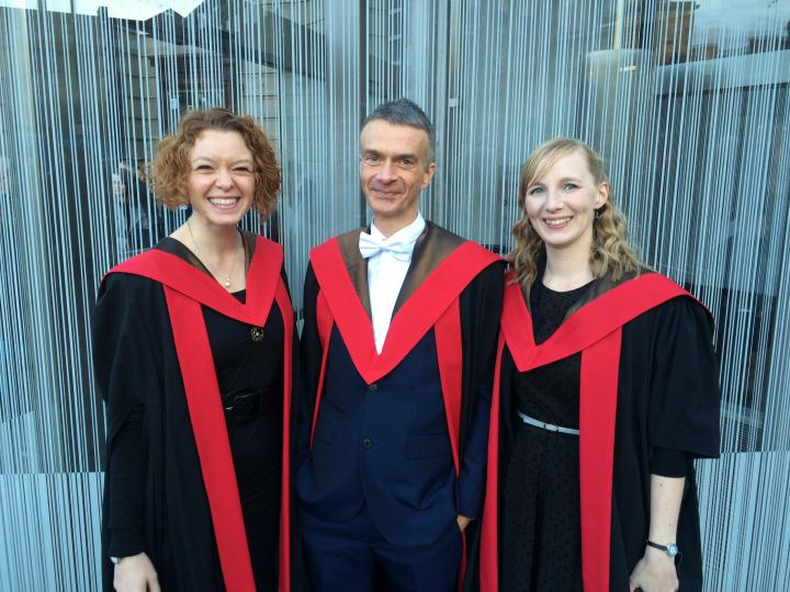 Dr Michael Byrom Graduates with PhD - The Baird Institute