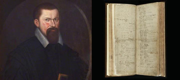 Robert Rollock and pages from the first Sponsio