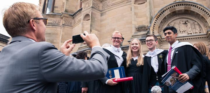 Graduations McEwan Hall