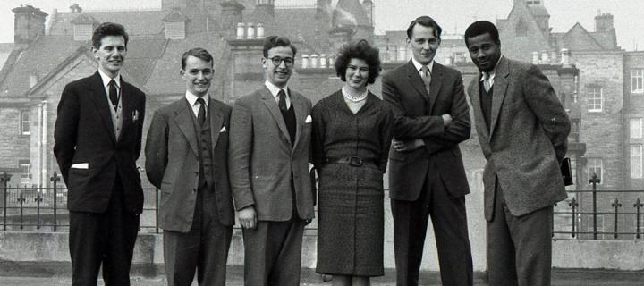 Group of students from the MBChB Class of 1963