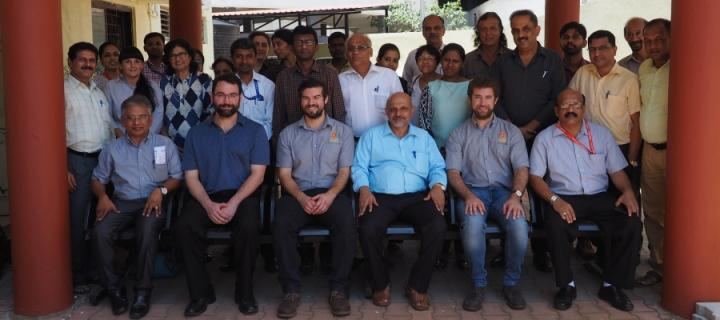A group photograph from the conference