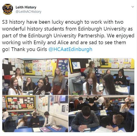 HCA History for Schools at Leith Academy