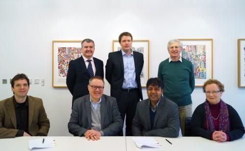 Representatives from Honda Research Institute Europe and Edinburgh Centre for Robotics