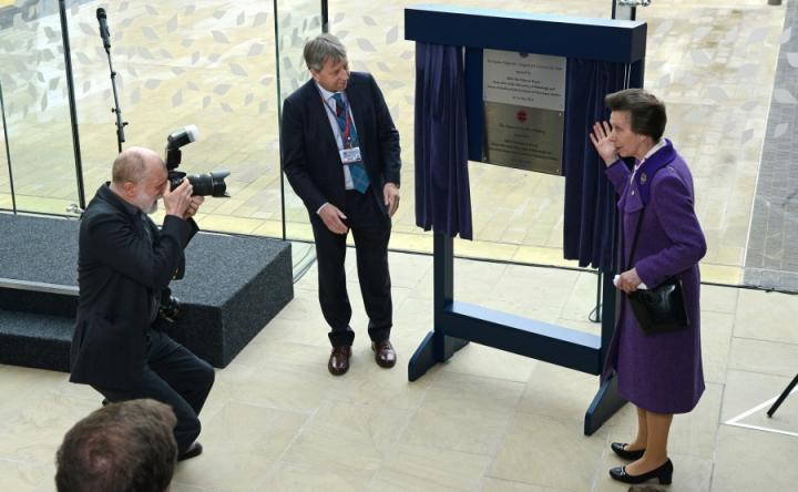 HRH The Princess Royal opens the Charnock Bradley Building