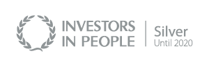 Investors in People silver banner