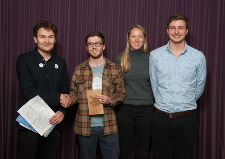 Sustainability Awards 2016 students