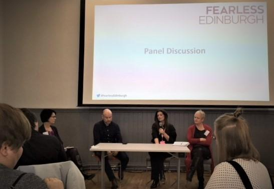 Fearless Edinburgh panel discussion